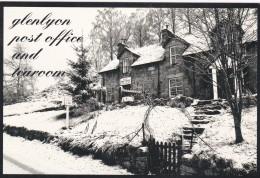 GLENLYCN , BRIDGE OF  BAGIE POST OFFICE @ TEAROOM. . MODERN - Perthshire