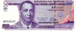 Philippines P.194 100 Piso 2007  Unc - Filippine