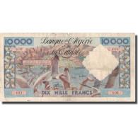 Billet, Algeria, 10,000 Francs, 1955, 1955-03-11, KM:110, TB+ - Algérie