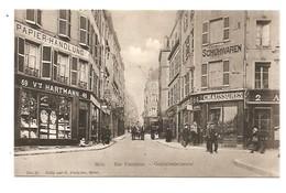 Metz. Goldschmiedstrasse. Rue Fournirue. - Metz