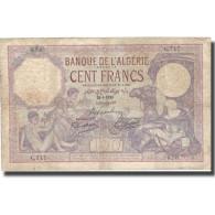 Billet, Algeria, 500 Francs, 1928, 1928-08-29, KM:19, TB - Algeria