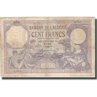 Billet, Algeria, 500 Francs, 1928, 1928-08-29, KM:19, TB - Algérie
