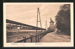 CPA Deventer, Spoorstraat Avec La Gare - Deventer