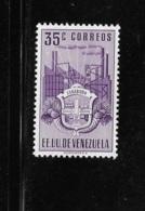 Venezuela 1951 Arms Of Carabobo & Industry 35c Mint - Venezuela