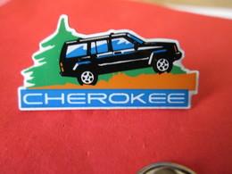PIN'S   JEEP  CHEROKEE - Badges