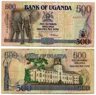 Uganda - 500 Shillings 1991 - Uganda