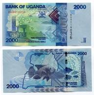 Uganda - 2000 Shillings 2015 - Uganda
