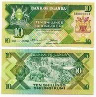 Uganda - 10 Shillings 1987 - Uganda
