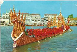 Thailand   Banglok  The Nakaraj Barge In A Procession - Thaïlande
