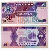 Uganda - 20 Shillings 1987 - Uganda