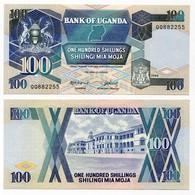 Uganda - 100 Shillings 1988 - Uganda