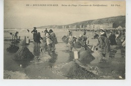 BOULOGNE SUR MER - Scène De Plage (Concours De Fortifications ) - Boulogne Sur Mer