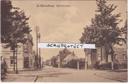 ST-MARIABURG-SCHRIEKSTRAAT-WIJNEN-LIKEUREN-IN HET BOERINNEKEN-UITG J.VAN THIELEN- VERSTUURD-1936-ZELDZAAM-ZIE DE 2 SCANS - Brasschaat