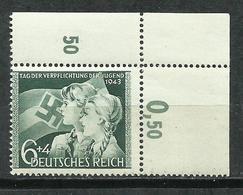 Alemania. 1943. Juventud Hitleriana. MHN - Nuevos