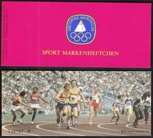 Germany Berlin 1979 / Athletics / Sport Help, Olympic Sporthilfe MH 1/79 / Markenheftchen, Booklet, Carnet MNH - Atletismo