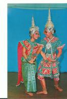 Thailand  Thai Actor And Actress A Posture Of Lakor - Thailand