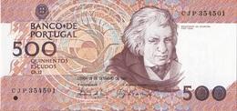 Portugal Banknote Of 500$00 Of 1994 - Portogallo