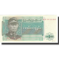Billet, Birmanie, 1 Kyat, Undated (1972), KM:56, SPL+ - Myanmar