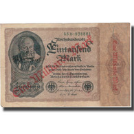 Billet, Allemagne, 1 Milliarde Mark On 1000 Mark, 1922, 1922-12-15, KM:113a, TB+ - 10000 Mark