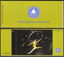 Germany Berlin 1981 / Gymnastics / Sport Help, Olympic Sporthilfe / Markenheftchen, Booklet, Carnet MNH - Gimnasia