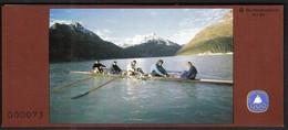 Germany 1981 / Rowing / Sport Help, Olympic Sporthilfe / Markenheftchen, Booklet, Carnet MNH - Remo