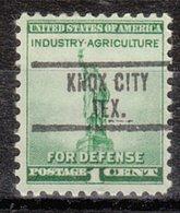 USA Precancel Vorausentwertung Preo, Locals Texas, Knox City 734 - Vereinigte Staaten