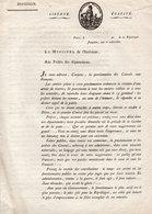 DECRET -MINISTERE DE L'INTERIEUR -LUCIEN BONAPARTE - PROCLAMATION CREATION D'UNE ARMEE DE RESERVE -1793- - Décrets & Lois