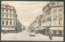 LIEGE Rue Des Guillemins Avec Vue Du Tram  - 13098 - Luik