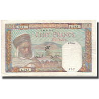 Billet, Algeria, 100 Francs, 1941, 1941-07-01, KM:85, TTB+ - Algérie