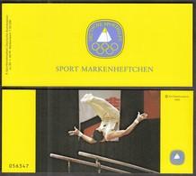 Germany 1983 / Gymnastics / Sport Help, Olympic Sporthilfe / Markenheftchen, Booklet, Carnet MNH - Gimnasia