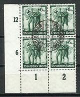 Alemania. 1938. Plebiscito De La Unión De Austria Al Reich. - Gebraucht