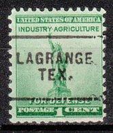 USA Precancel Vorausentwertung Preo, Locals Texas, La Grange 703 - Vereinigte Staaten