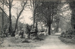 La Louvière : Château Boch, Ruines Dans Le Parc - La Louviere