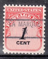 USA Precancel Vorausentwertung Preo, Locals Texas, La Marque 841 - Vereinigte Staaten