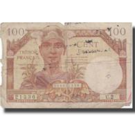 France, 100 Francs, 1947, 1947, B, Fayette:VF32.1, KM:M9 - Tesoro