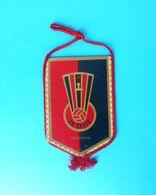 FK CELIK Zenica - Bosnia Ex Yugoslavia Football Soccer Club Vintage Pennant * Fussball Futbol Futebol Calcio Foot Fanion - Apparel, Souvenirs & Other