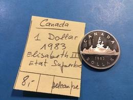CANADA : 1 DOLLAR 1983 - ELISABEH 2 _ SUPERBE - Canada