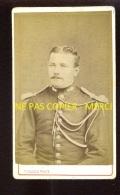 MILITAIRE - AUCUN NUMERO VISIBLE - PHOTOGRAPHE DURAND, PARIS - FORMAT CDV - Guerre, Militaire