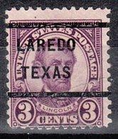 USA Precancel Vorausentwertung Preo, Locals Texas, Laredo 635-232 - Vereinigte Staaten