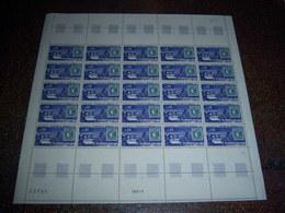 TIMBRE FEUILLE DE 25 NEUVE EMISSION DE BORDEAUX 1659 / 1970 - Full Sheets