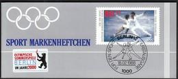 Germany Berlin 1988 / Ice Dancing / Sport Help, Olympic Sporthilfe / Markenheftchen, Booklet, Carnet MNH - Invierno