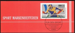 Germany 1989 / Table Tennis / Sport Help, Olympic Sporthilfe / Markenheftchen, Booklet, Carnet MNH - Tenis De Mesa