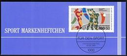 Germany Berlin 1989 / Volleyball / Sport Help, Olympic Sporthilfe / Markenheftchen, Booklet, Carnet MNH - Voleibol