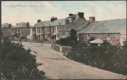 The Village, Carbis Bay, Cornwall, 1908 - Argall's Postcard - England