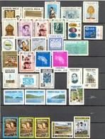 Costa Rica - 1976 - > 1979 - Lots Timbres Poste Aérienne -  Oblitérés - Quelques Séries ** Voir Nºs Dans Description - Costa Rica