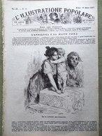 L'illustrazione Popolare 18 Marzo 1883 Andalusia Mazzini Nievo Galileo Algeria - Before 1900