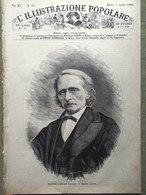 L'illustrazione Popolare 1 Aprile 1883 Cantù Livorno Follia Religiosa Raffaello - Before 1900
