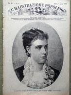 L'illustrazione Popolare 8 Aprile 1883 Raffaello Sanzio Giacometti Etna Armenia - Before 1900