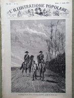 L'illustrazione Popolare 15 Aprile 1883 Pubblica Sicurezza San Marino De Amicis - Ante 1900