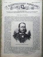 L'illustrazione Popolare 22 Aprile 1883 Rondini Bavaria Monaco Bufalini Cesena - Before 1900